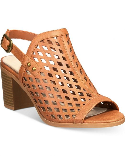 Women-Easy-Street-Erin-Slingback-Sandals-size-9-N-TAN-114494615312