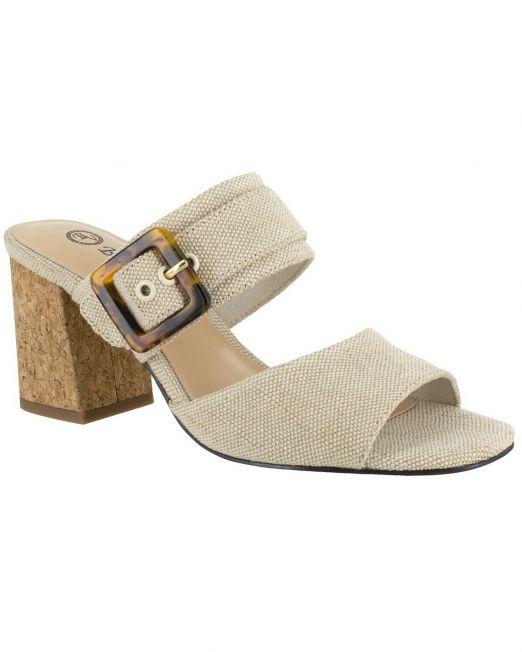 Women-Bella-Vita-Tory-II-Dress-Sandals-Beige-with-Buckle-accent-Size-9-B4HP-114494615325