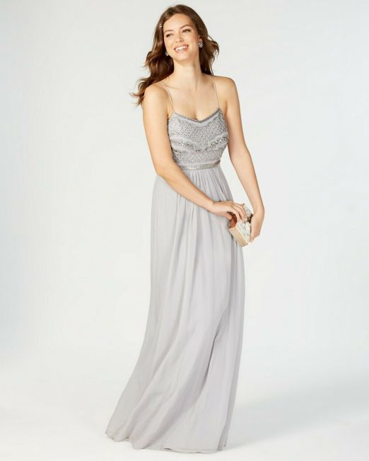 Adrianna-Papell-Beaded-Chiffon-Gown-Silver-2-Chest-30-Waist-26-114494634008