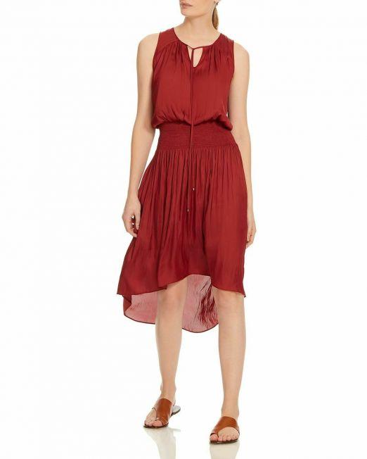 HALSTON-Womens-Sleeveless-Round-Neck-Dress-WKeyhole-MSRP-325-114494609608