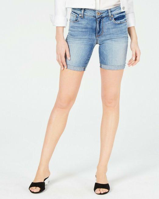 Women-Juniors-STS-Blue-Becca-Denim-Bermuda-Shorts-Summer-Collection-114494629259